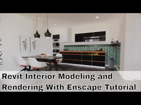 Revit Interior Modeling and Rendering With Enscape Tutorial Part 1