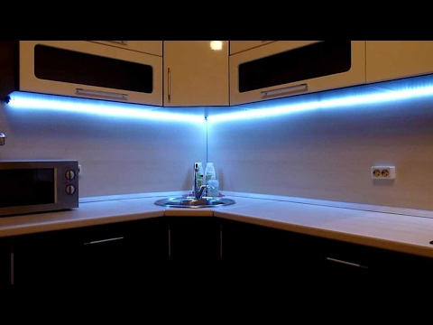 Освещение на кухне, LED светильники