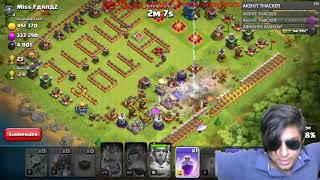 LOL Attack By Draco On LOL Base | Funny COC Clip
