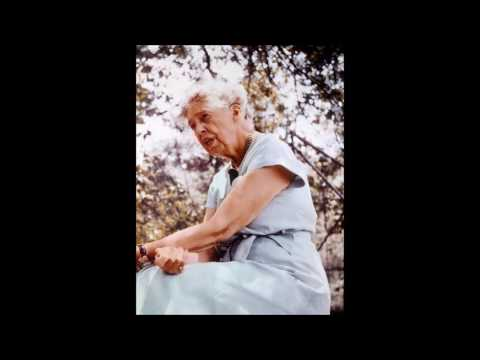Eleanor Roosevelt 1950s Interview Discussing FDR on December 7, 1941