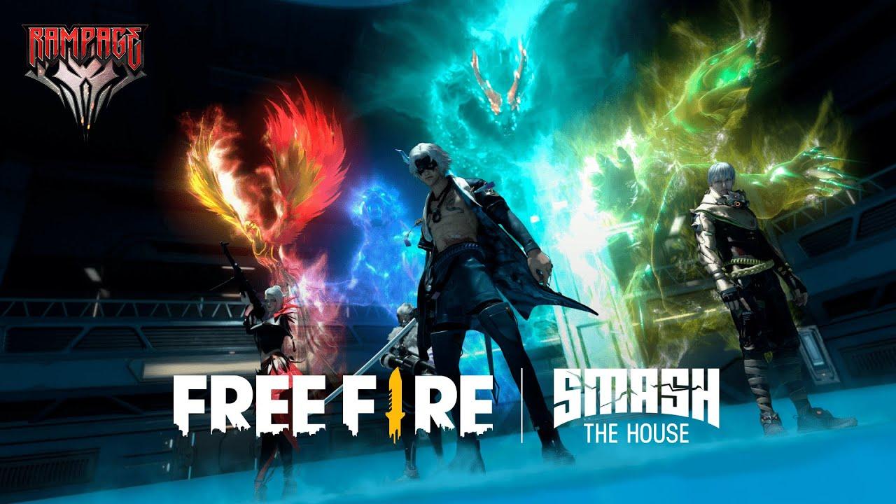 "Música Tema: DVLM x Free Fire: ""Rampage"""