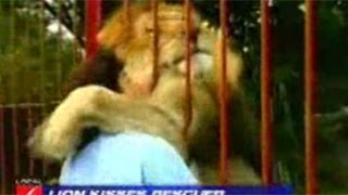 Lion Attacks Kills Woman To Death at the Cat Haven in Fresno County, California 2013