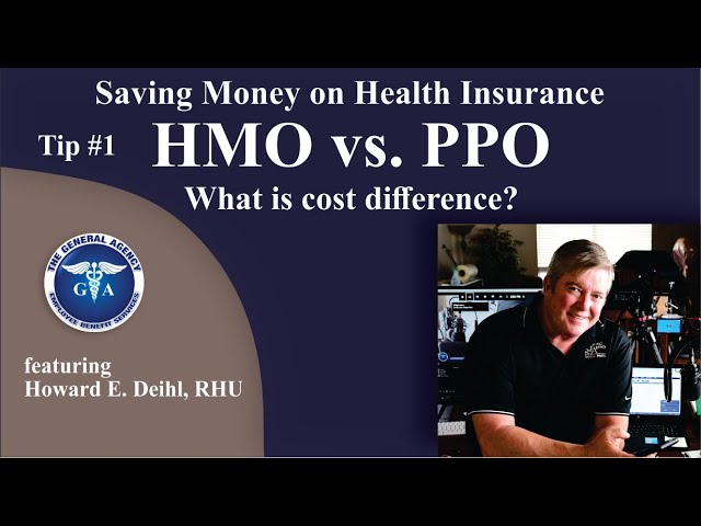 Tip #1 - HMO vs PPO. What is the cost difference 2021