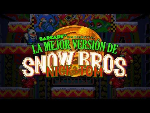 La MEJOR versión de SNOW BROS