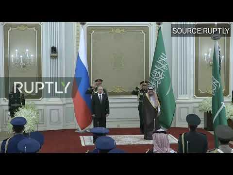 Russian National Anthem Fails In Saudi Arabia(Hilarious!!!)