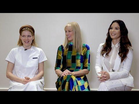The Rook's Emma Greenwell, Joely Richardson & Olivia Munn