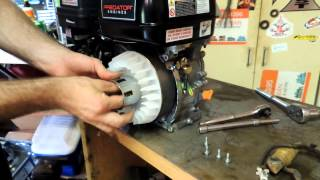Installing generator to a predator motor to power lights