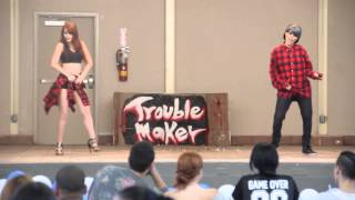 [COVER] Hyuna+Troublemaker -  Bubble Pop + Attention + Now [HD]