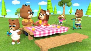 BEAR FINGER FAMILY SONG | Finger Family Nursery Rhymes | Kids Baby Songs | Children Nursery Rhymes