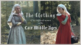 Getting Dressed in the late 14th  early 15th Century