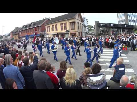 17 Mai i Porsgrunn 2017 (17th of May the norwegian independence day)