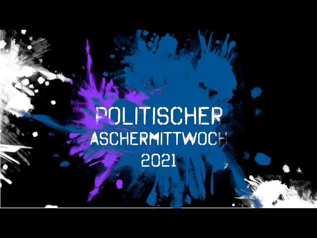 Politischer Aschermittwoch 2021