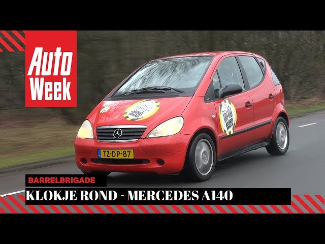 Barrelbrigade Klokje Rond - Mercedes A140 Classic – 1998 – 184.458 km