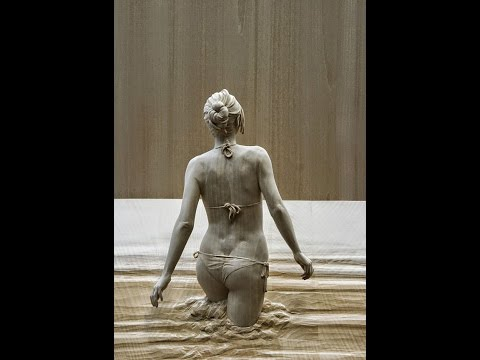 Супер реалистичные скульптуры из дерева