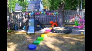 Creative Home playground design ideas