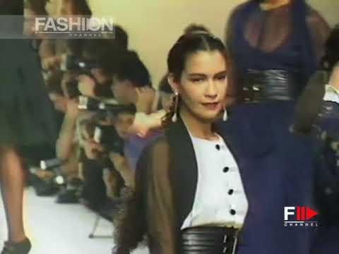 KARL LAGERFELD Fall 1988/1989 Paris - Fashion Channel