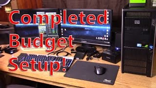 budget pc with a not so budget graphics card hp z800 and nvidia geforce gtx 970