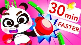 1.5X Baby Panda Faster Kung Fu!! Baby Shark by Little Angel: Nursery Rhymes and Kid's Songs