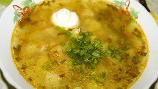 Суп с куриным филе и капустой // Суп Щи