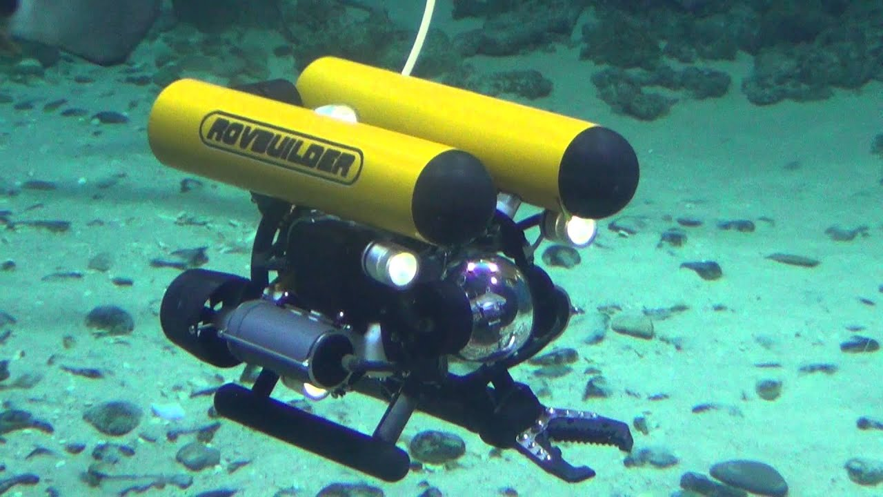 Rov Rovbuilder Rb Mini 150 With 2 Jaw Manipulator In The