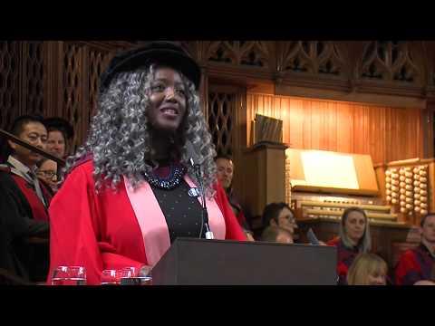 Anne-Marie Imafidon receives an honorary degree