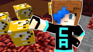 MINECRAFT CRAZY WALLS LUCKY BLOCK MODE | GO TEAM CHAUDREY