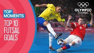 Top 10 Futsal Goals at the Youth Olympics 2018| Top Moments