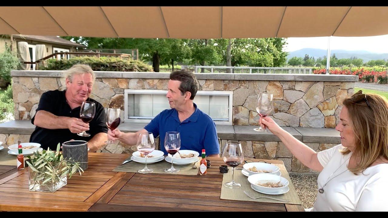 Wine & Gumbo Food Pairing At Fortunati Vineyards