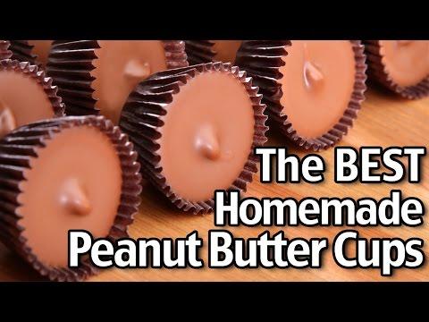 The Best Homemade Peanut Butter Cups!