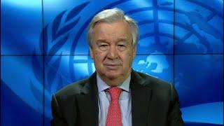 Nelson Mandela  International Day 2020 - UN Chief Video Message 2020