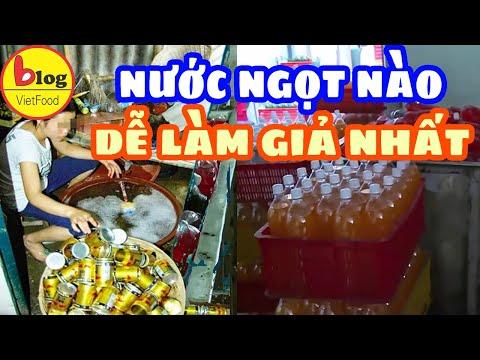 Nước ngọt giả được bán tràn lan trên thị trường, cẩn thận kẻo chuốc bệnh
