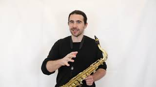 Composer Resources: Saxophone, Split tones / Joshua Hyde