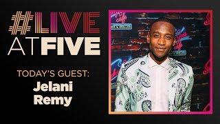 Broadway.com #LiveatFive with Jelani Remy of SMOKEY JOE'S CAFE