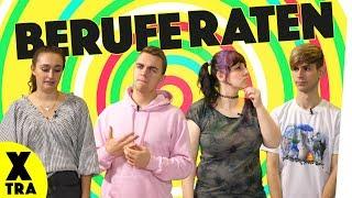 Berufe von Youtubern raten! | BUBBLES mit Coldmirror, Simon Will, KostasKind und Franca