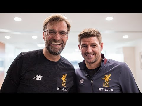 Extended: Gerrard And Klopp Talk Management At Liverpool FC