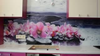 стекло на кухню(Стекло на кухню, вместо плитки - Скинали Кухонные фартуки - скинали с любым сюжетом по ценам производителя...., 2017-02-18T04:40:31.000Z)