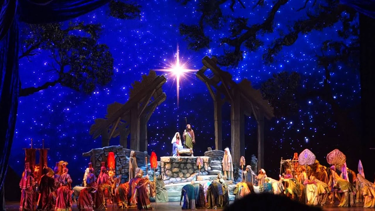 Nativity Scene Radio City Music Hall Christmas