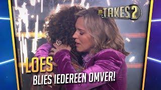 Loes Haverkort wint It Takes 2: bekijk hier haar hoogtepunten
