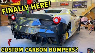 Download Rebuilding A Wrecked Ferrari 458 Spider Part 10 Mp3 and Videos