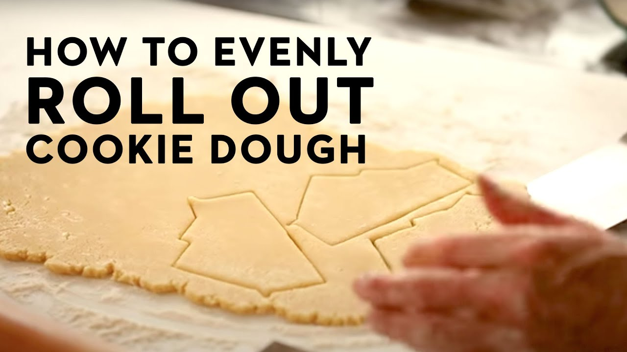 No Fail Trick To Rolling Out Perfect Sugar Cookie Dough