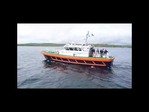 """John Rae"" the new  pilot  boat  for Scapa Flow .kirkwall orkney islands  scotland"