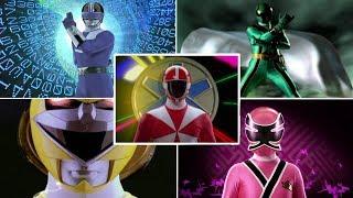 Top 10 Power Rangers Morphs   Morph Sequences   Superheroes