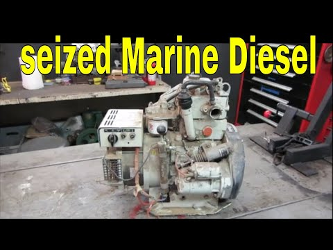 Can It Be Saved? Junked Marine Diesel Gen Set pt 1