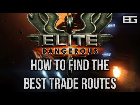 How to Find the Best Trade Routes - Making money/credits tutorial - Elite: Dangerous