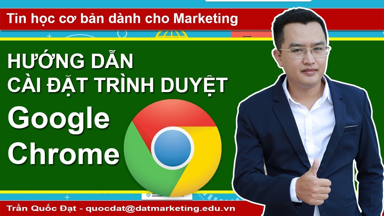 Hướng dẫn cài đặt trình duyệt web Google Chrome trên Window 10