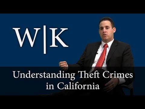 Theft Crimes (Petty Theft vs. Grand Theft)