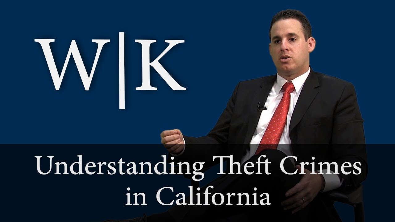 theft and petty larceny terms