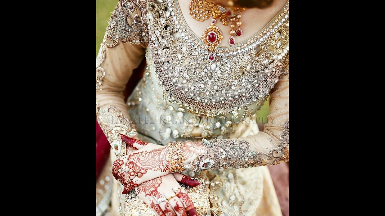 2e66cefd52 Latest bridal fashion wear 2017/pakistani bridal dresses 2017 - YouTube