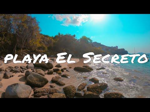 La Playa El Secreto de Acapulco(mini aventura)