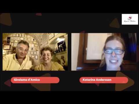 WinesOfItaly LiveStream with d'Araprì winery, Puglia
